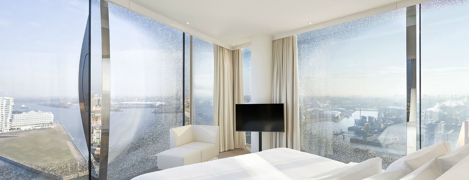 Westin Hotel Hamburg - Stunning views of Hamburg