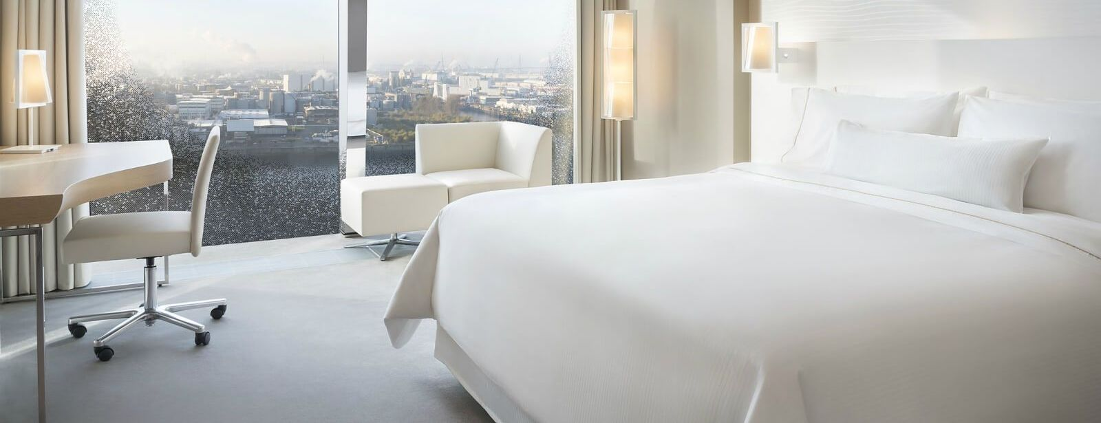 Westin Hamburg Hotel - Sleep well Panaroma room