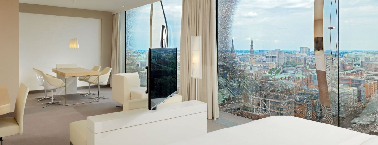 Westin Hamburg Hotel - Stunning view of Hamburg