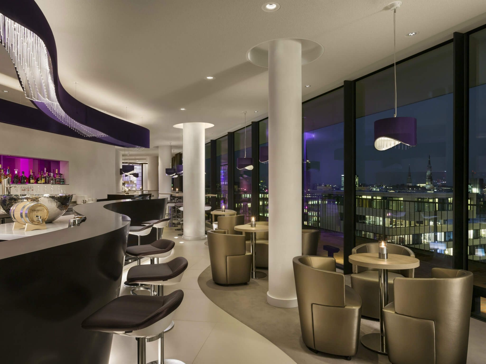 Elbphilharmonie Bar - the Bridge - Hamburg, Westin Hotel