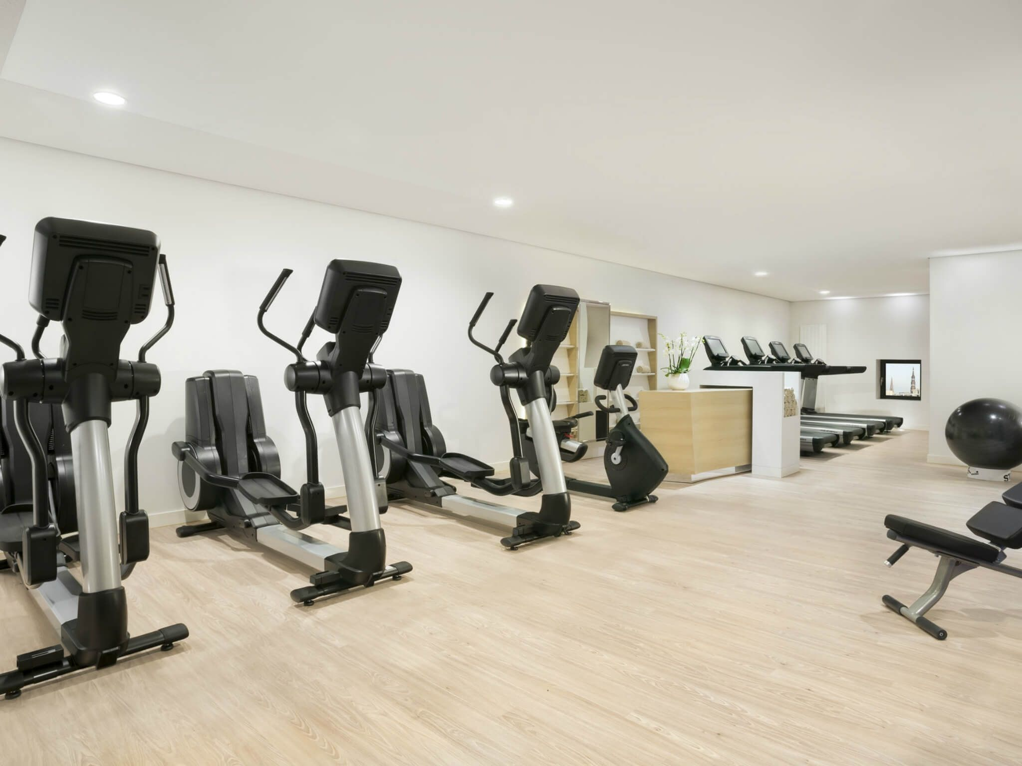 Fitness area in the Westin Hamburg