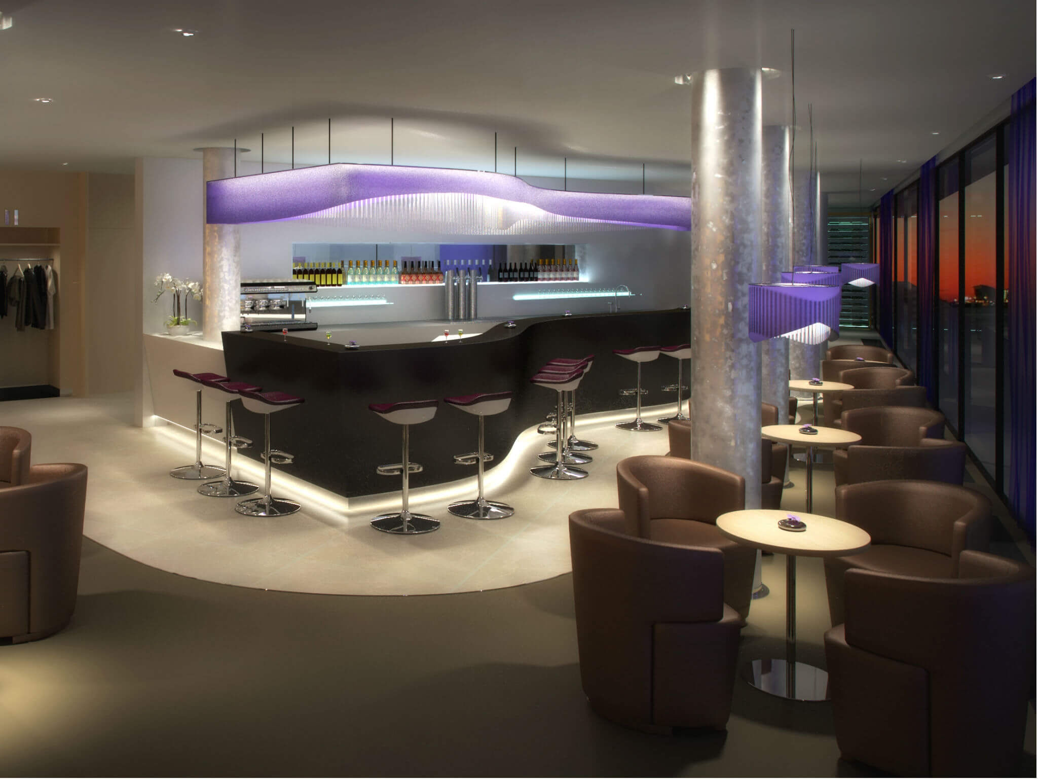 Westin Hotel Hamburg, in the Elbphilharmonie - Bar & Lounge