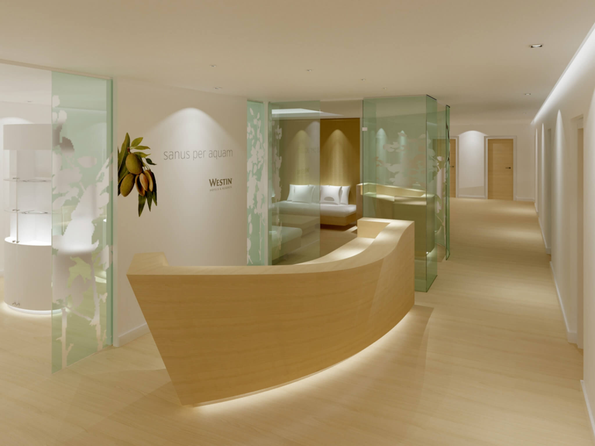 Westin Hotel Hamburg, in the Elbphilharmonie - Wellness area