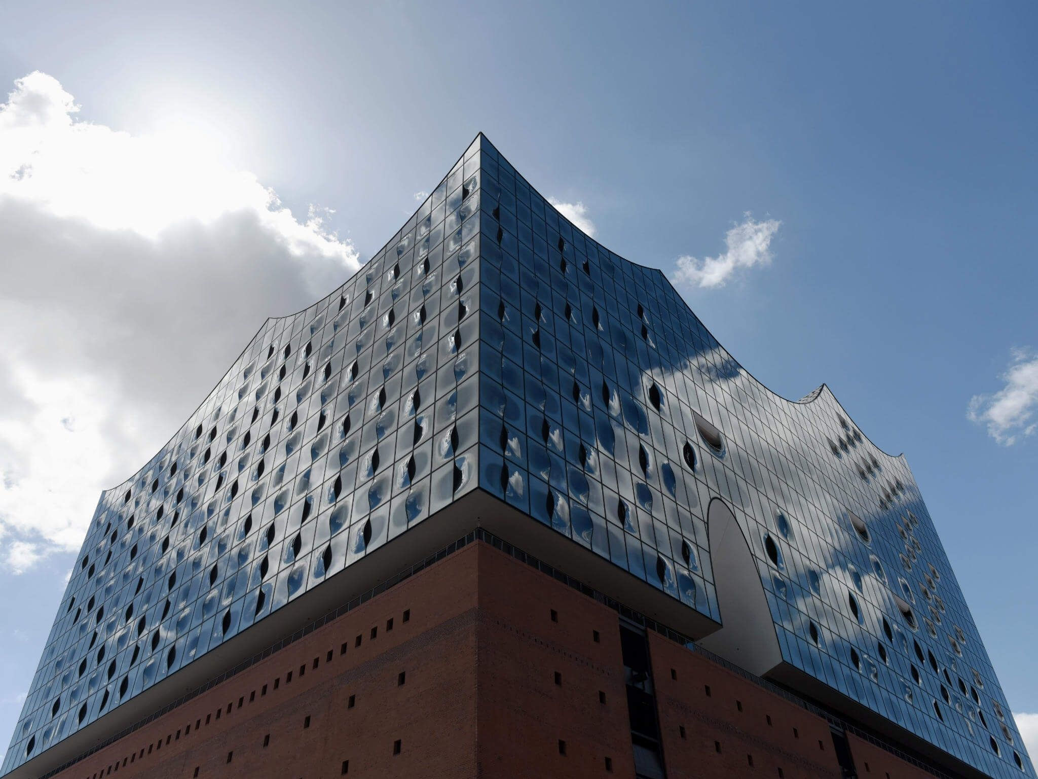 Westin Hotel Hamburg, in the Elbphilharmonie
